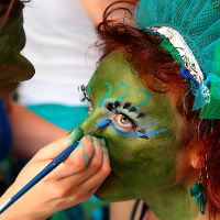face painter in edinburgh